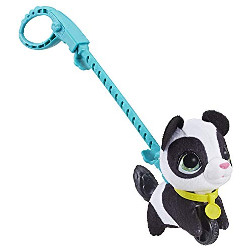 FurReal Friends E4773ES2 furReal Kleine Racker Panda, interaktives Haustier, weiß-schwarz