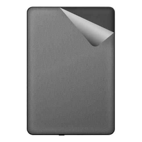 スキンシール Kindle Paperwhite (第10世代・2018年11月発売モデル) 【マット・グレーアルミ】