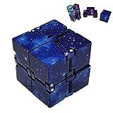 Infinity Cube, Mini ABS Galaxy Lustige Angst Infinity Cube Spielzeug Hobbys für Stressabbau Zappeln...