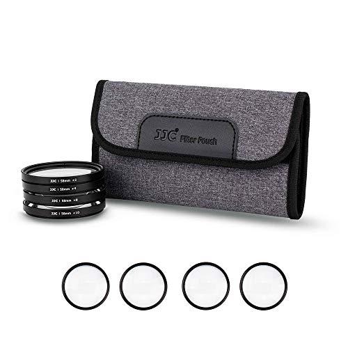 JJC - Kit di filtri Macro ravvicinati da 52 mm (+2, 4, 8, 10) con custodia filtrante per Nik. D90 D750 D7500 D5600 + AF-S DX NIKKOR 35 mm f/1.8G e altre fotocamere con filettatura da 52 mm