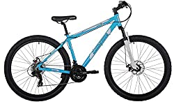 """Shimano EZ fire 21 speed gears 27. 5 MTB specific tyres 27. 5"""" Zoom Suspension Fork 160mm disc brakes Padded MTB saddle"""