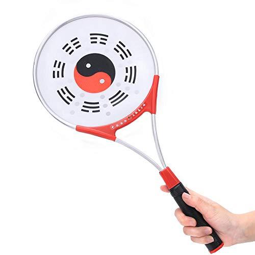 XiangXin Raqueta de Pelota de Tai Chi, con Mango de aleación de Aluminio Raqueta Suave de Tai Chi, Silicona 310g Resistente Durable para Ejercicio físico Tai Chi Ancianos(Softball Racket)