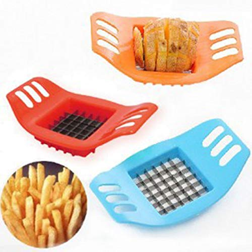Potato Cutting Device Cut Fries Kit French Fry Yarn Cutter Set Potato Carrot Vegetable Slicer Graters Chopper Chips Making Tool () Jasnyfall