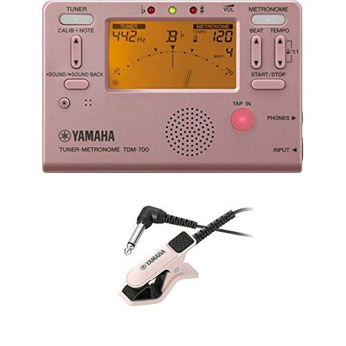 Yamaha TDM-700P Tuner Metronome TM-30PK Microphone for Tuner