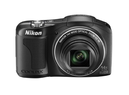 Nikon デジタルカメラ COOLPIX L610 光学14倍 単3形電池対応 ブラック L610BK