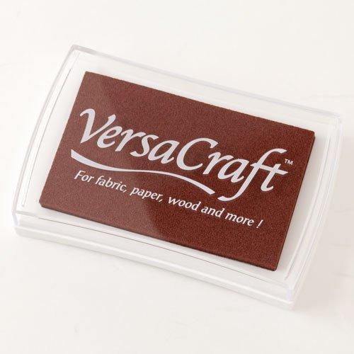 スタンプ用インクバーサクラフト(VersaCraft)チョコレート (19942-154)布用・顔料系水性インクこどものかおStamp ink