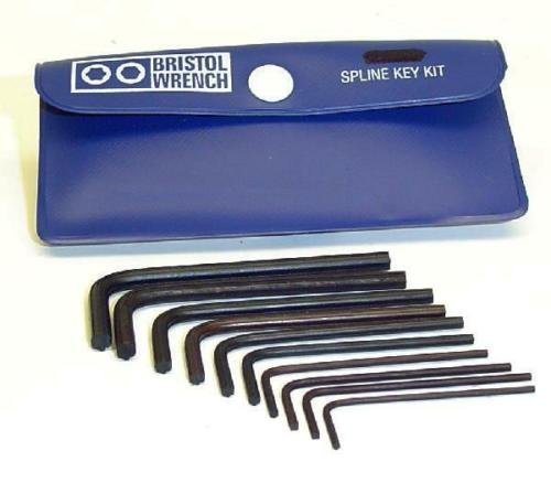 10 PIECE BRISTOL WRENCH SET FOR COLLINS KWM SERIES TRANSCEIVERS