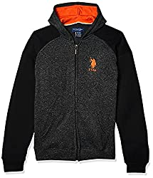 Back to school checklist, U.S. Polo Ass'n Boys hooded zip jacket