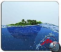 ZMvise島背景ファッション漫画マウスパッドマットカスタム四角形ゲームマウスパッド
