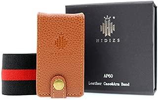 HIDIZS AP60 Bluetooth MP3プレーヤー用レザーケース高解像度音楽プレーヤーロスレスデジタルオーディオプレーヤー(ブラウン)