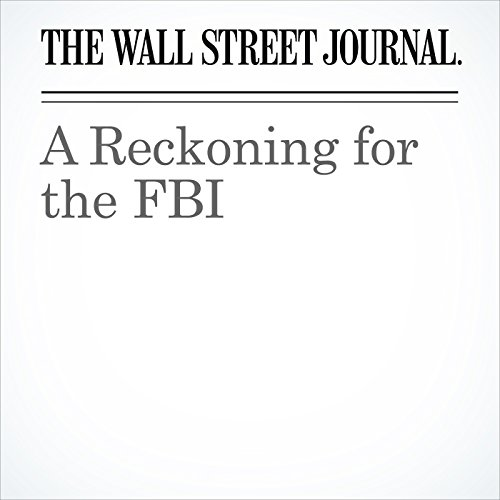 A Reckoning for the FBI copertina