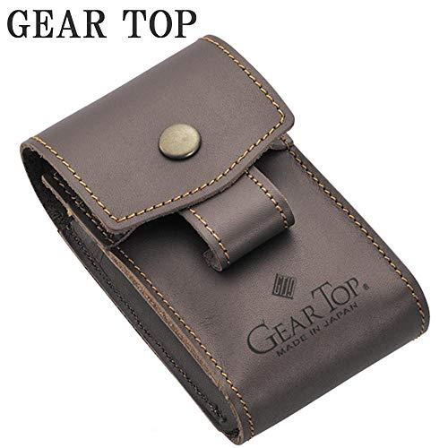 GEAR(道具)TOP(頂点)を目指す日本ブランドのシガレットケース。 GEAR TOP シガレットケース GT-302 ブラウン 〈簡易梱包
