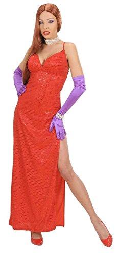 Widmann wid58923–Kostüm für Erwachsene Femme Fatale, rot, L