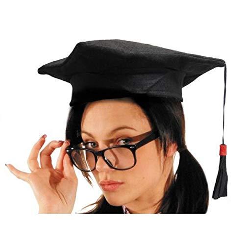 Party Pro 84324589 chinois Student Chapeau, Noir