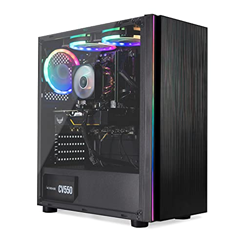 BREUNOR NEW HORIZONS - PC gaming Core i3 10100F,pc desktop i3, SSD NVMe 250 GB fino a 2.400 mb/sec, HDD 1TB, SCHEDA VIDEO GTX 1650 4Gb,RAM 16GB, WIFI