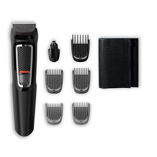 Philips MG3720/15 Recortadora para barba y pelo, 7 en 1,