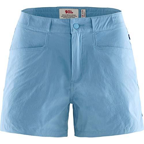Fjallraven High Coast Lite Shorts W Pantalons Femme, Bleu (River Blue), 38