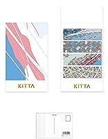 キングジム KITTA キッタスペシャル(ポップ) KITP003 【まとめ買い 2 パック 】 + 画材屋ドットコム ポストカードA