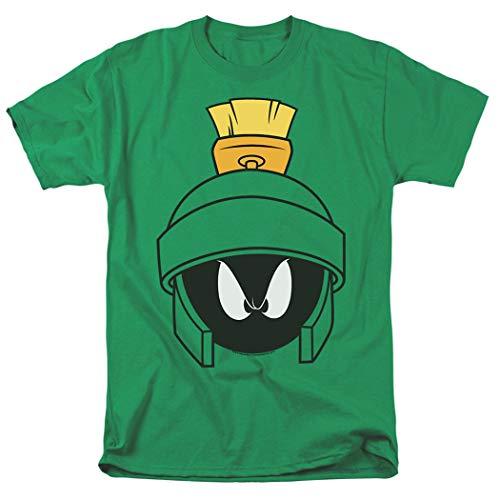 Looney Tunes Marvin Helmet T Shirt & Stickers (Small)