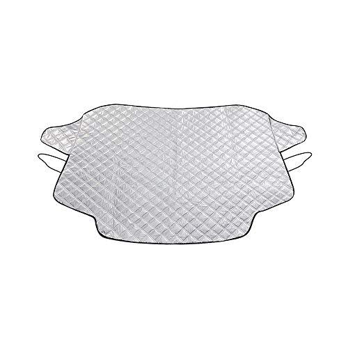 183 x 116 cm Pare-Brise Pare-Soleil et Snow Housse de Protection pour Voiture Garder au Frais Avant de Voiture fenêtre Pare-Soleil Compatible avec la Plupart de Voiture et SUV