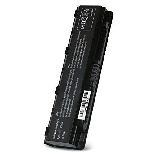 New Laptop Battery for Toshiba Satellite PA5024U-1BRS PA5023U-1BRS C55 C55-A C55T C55DT C855 C855D L850 C850 C855D C855-S5206 C855-S5214 S855 S875 Series 10.8V 5200mAh