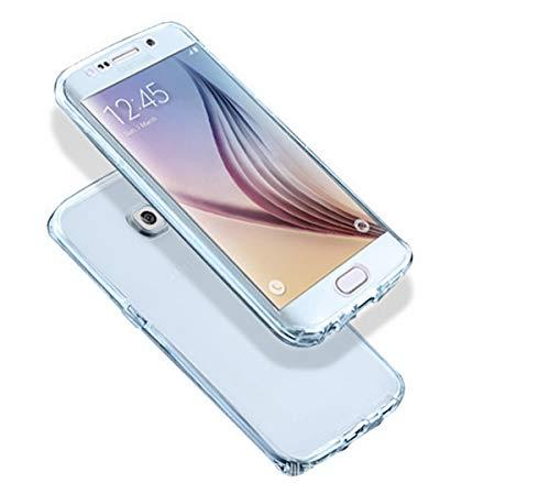 Funda para Galaxy S7 Edge, 360 cubierta de cuerpo completo suave TPU cubierta (pantalla de 5.5 pulgadas)