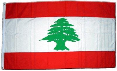 Flagge Libanon - 90 x 150 cm