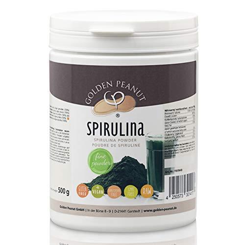 Spirulina Algen Pulver 100% rein ohne Zusätze, Lebensmittelqualität 500 g Dose