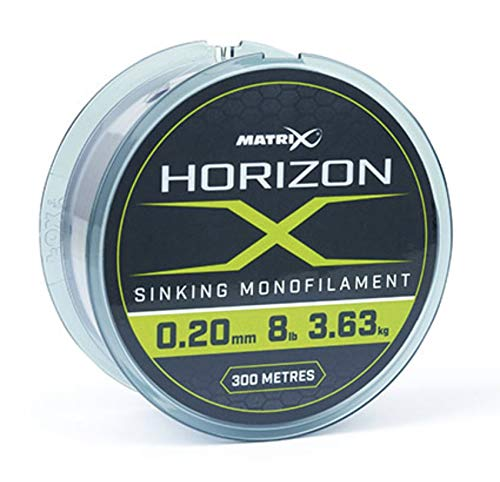 Fox Matrix Horizon X Sinking Mono 300m 0,18mm 6lb / 2,72kg GML022 Angelschnur Monofil Schnur Line Mono