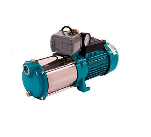 Hauswasserwerk Wasserpumpe 400V 1300 1500 1800 oder 2200W inkl. Druckschalter Manometer Gartenpumpe (2200 W)