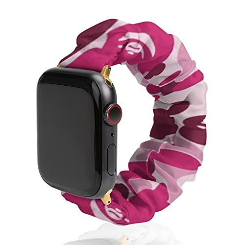 A Bathing Ape Bape Replacement Wristband Elastic Watch compatible with for Apple Watch strap,suitable for adults 38mm 40mm 42mm 44mm,suitable for iwatch SE/Series 6/5/4/3/2/1