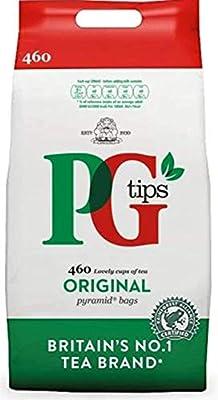 PG Tips Original Pyramid Tea Bags (Pack of 1, Total 460 Tea Bags)