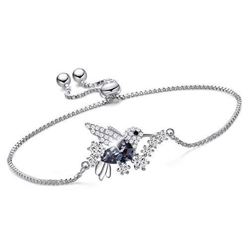 Sterling Silver Hummingbird Bracelet