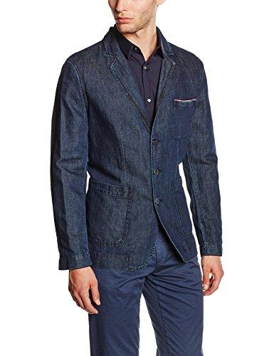 Trussardi Jeans 52H9049 Giacca, Blu (49 Blu Navy), 54 Uomo