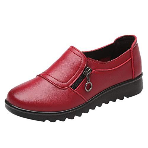 Chaussures CompenséE Femme Ete Confort Mocassins...
