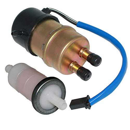 Caltric Fuel Pump and Filter Compatible With Kawasaki ZX600E Ninja ZX6 1993 1994 1995 1996-2001