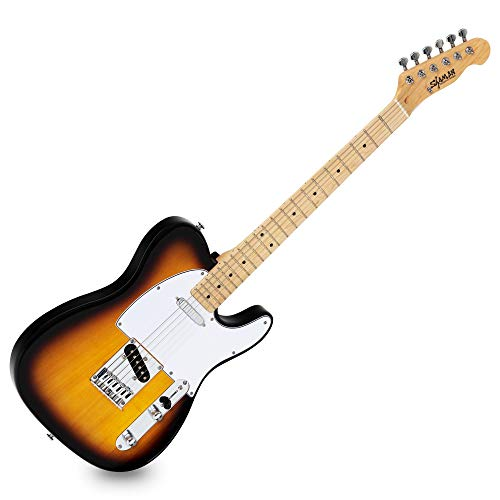 Shaman Element Series TCX-100VS - E-Gitarre in TL-Bauweise - geölter Hals aus Ahorn - Ahorn-Griffbrett - Vintage Sunburst