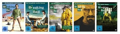 Breaking Bad - Season 1-5 [18 DVD Set]