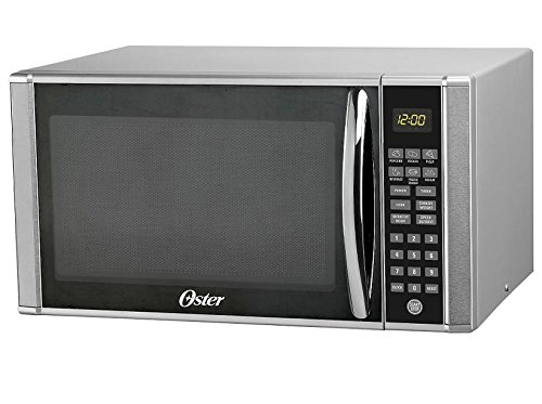 OSTER Microwave Oven, 1.1 CUBE, Stainless Steel