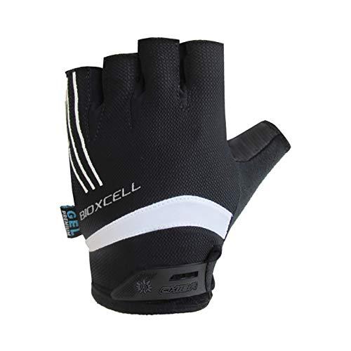Chiba BioXCell Pro Damen Fahrrad Handschuhe kurz schwarz 2017: Größe: XS (6)