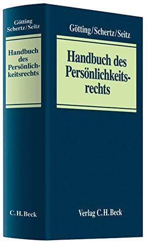 Handbuch des Persoenlichkeitsrechts
