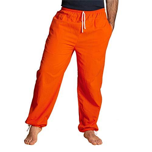 PANASIAM E'Pants Long, Cotton, orange, L