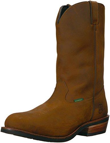 Dan Post Men's Albuquerque Waterproof Boot,Mid Brown Oily,10 D US