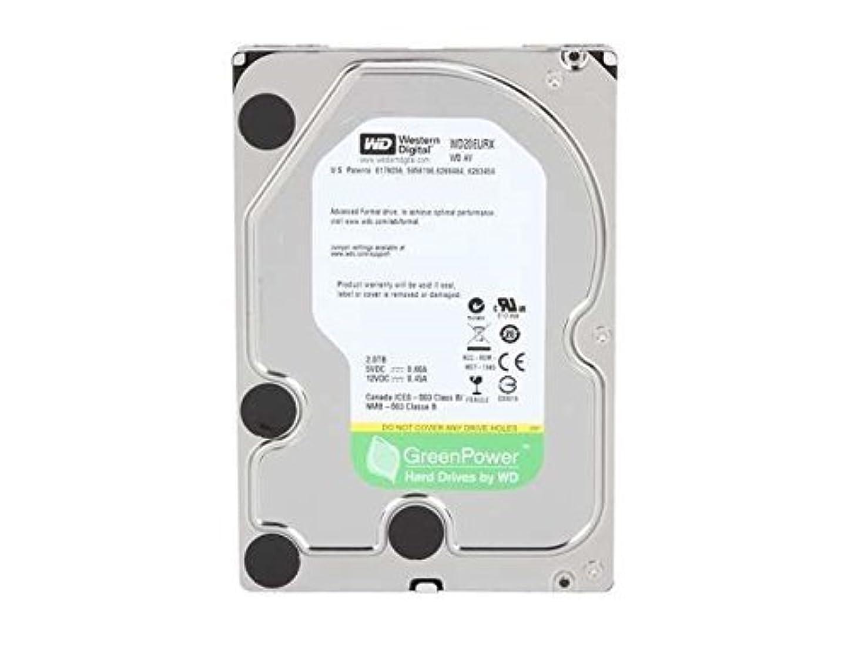 WD 2 TB WD AV-GP SATA III Intellipower 64 MB Cache Bulk/OEM AV Hard Drive WD20EURX (Renewed) uhwvshb165878