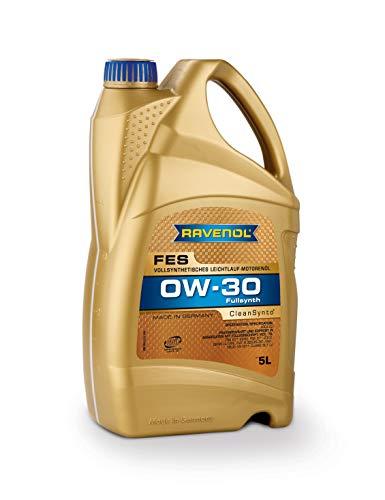 RAVENOL J1A1581-005 FES 0W-30 Fully Synthetic Motor Oil (5 Liter)