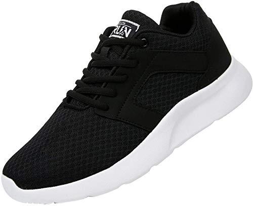 Uricoo Herren Damen Sneaker Outdoors Straßenlaufschuhe Sports KletterschuheTurnschuhe Running Fitness Atmungsaktiv Leichte Laufschuhe Sportschuhe 8996BWT43