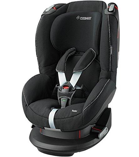 Maxi-Cosi Tobi Kleinkinder-Autositz, Installation mit Sicherheitsgurt, 9 Monate - 4 Jahre, 9 - 18 kg, Digital Black (schwarz)