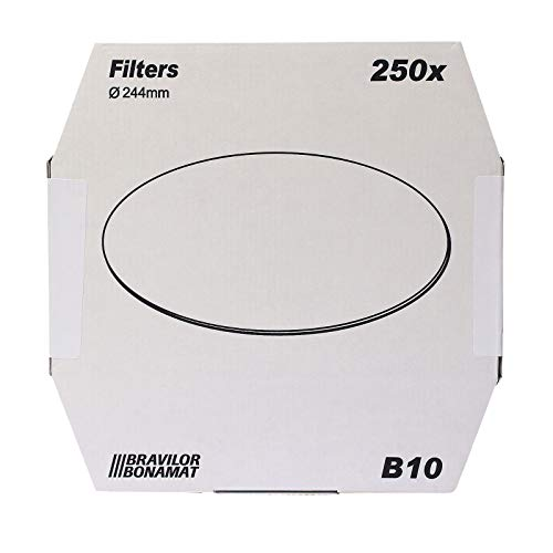 Bonamat Papierfilter ø 244mm 250 Stück für Kaffeemaschine B 10