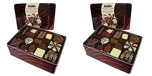 Kirkland Signature European Cookies with Belgian Chocolate, 49.4 Ounce Pack of 2