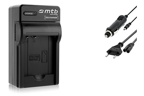 Ladegerät (Netz/KFZ) für Panasonic DMW-BCK7 / Lumix DMC-FH, FP, FS, FT, FX.- s. Liste